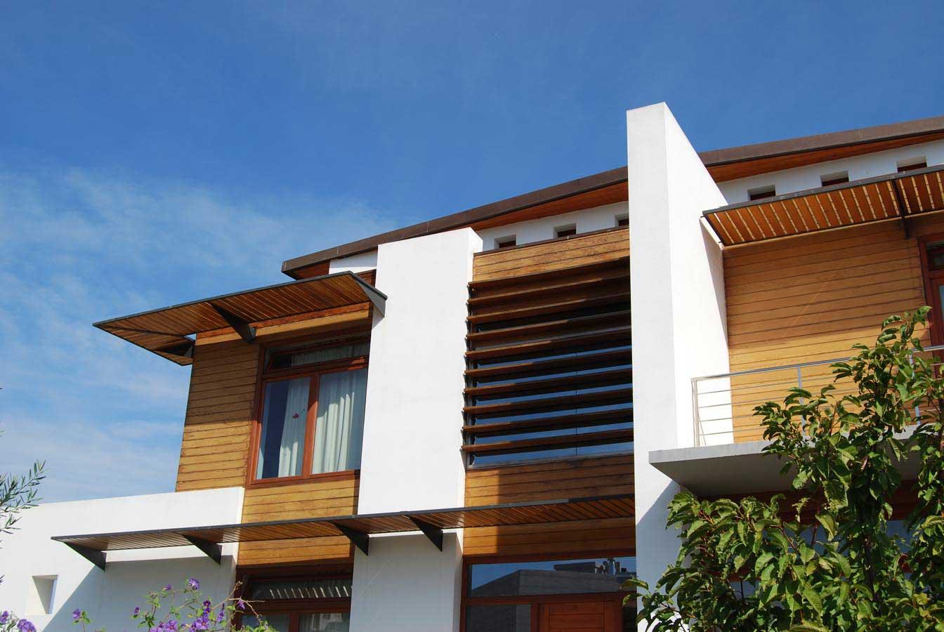 Casa Blasco Frente diseñada Luis De Garrido