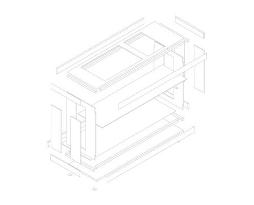 r4house esquemas (111) DESPIECE MODULO DE COCINA
