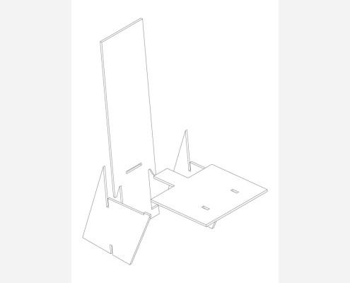 r4house esquemas (113) DESPIECE SILLA