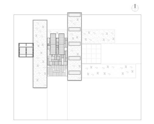 R4 House. Planta cubierta)
