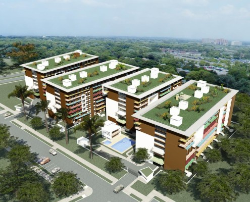 SAYAB Eco-Housing Complex. Colombia. PhD Luis De Garrido (1)