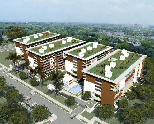 SAYAB Eco-Housing Complex. Colombia. PhD Luis De Garrido (1)