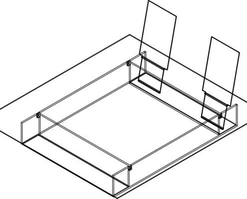 vitrohouse esquemas (105) CAMA DOBLE DE VIDRIO