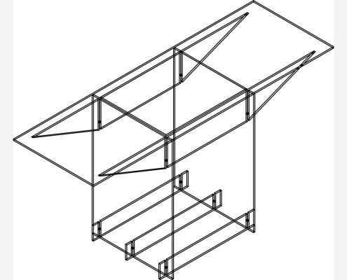 vitrohouse esquemas (106) ENCIMERA 1 DE VIDRIO
