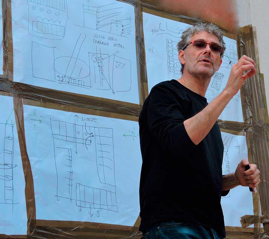 Teaching Luis De Garrido