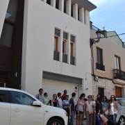Luis De Garrido con alumnos 1. Nuñez Eco-House. Valencia