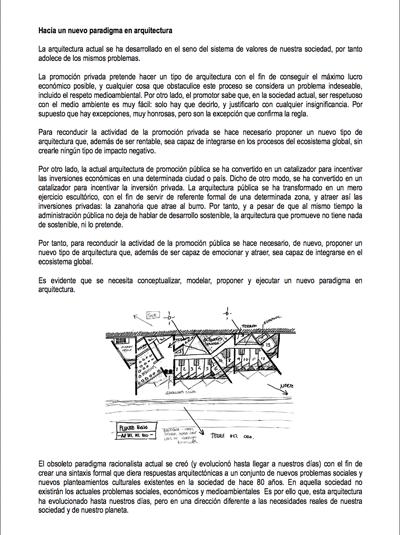 Hacia un nuevo lenguaje formal en arquitectura sostenible
