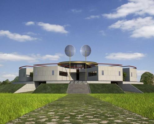 01_MANDALA ECO-HOUSE