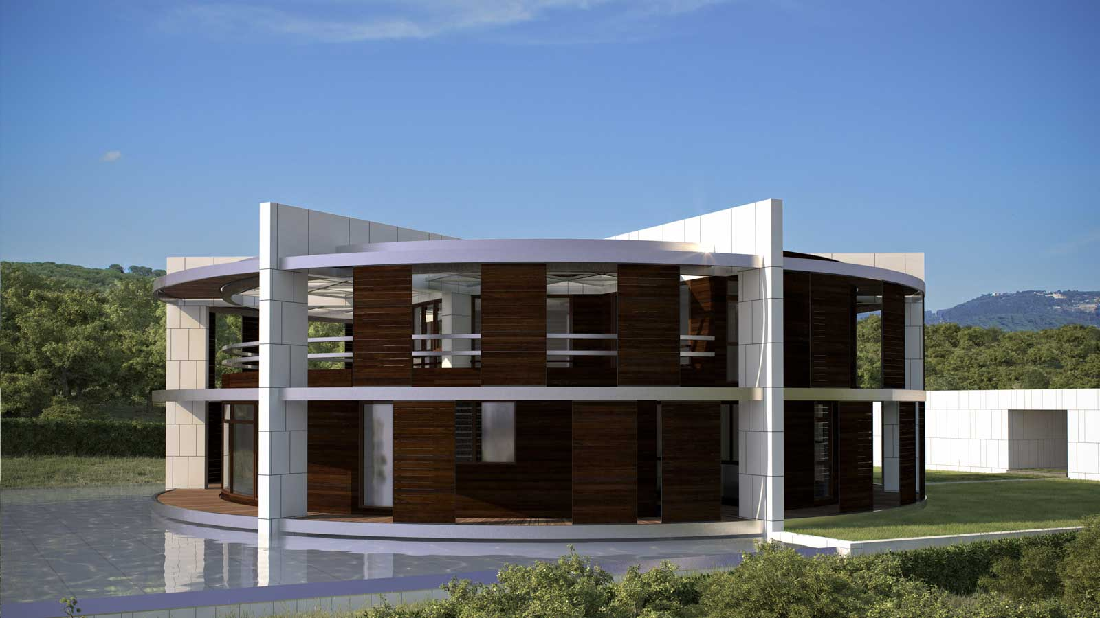 One Zero Eco House For Leo Messi on Solar Home Design
