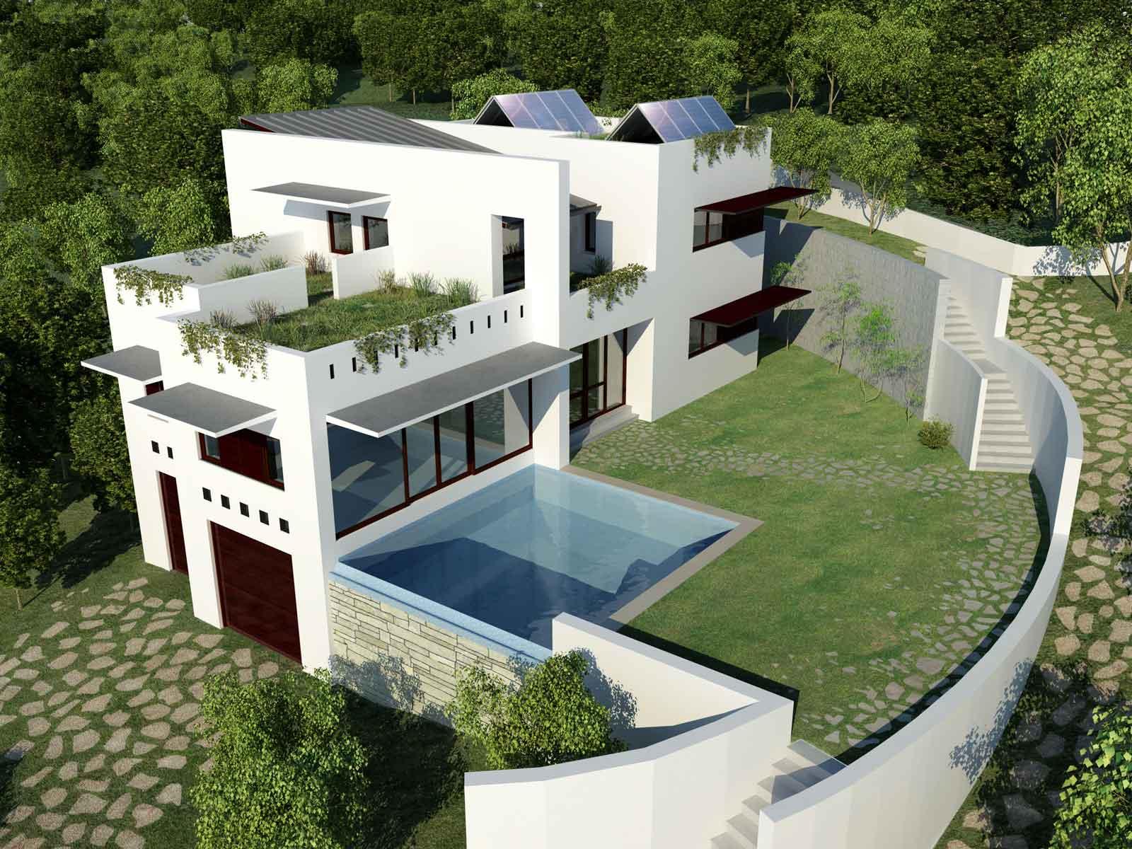2005 pavon eco house luis de garrido - Proyectos de casas ...