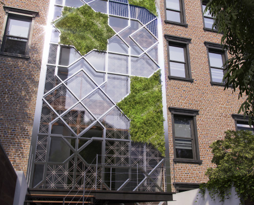 Green Castle Eco-House. Harlem. NYC. New York. USA. 2015. Luis De Garrido 1