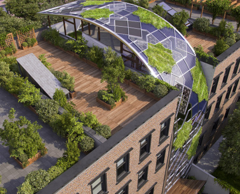 Green Castle Eco-House. Harlem. NYC. New York. USA. 2015. Luis De Garrido 6