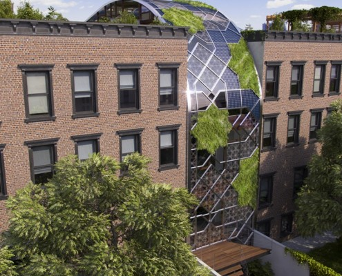 Green Castle Eco-House. Harlem. NYC. New York. USA. 2015. Luis De Garrido 7