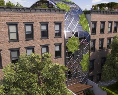 Green Castle Eco-House. Harlem. NYC. New York. USA. 2015. Luis De Garrido 7
