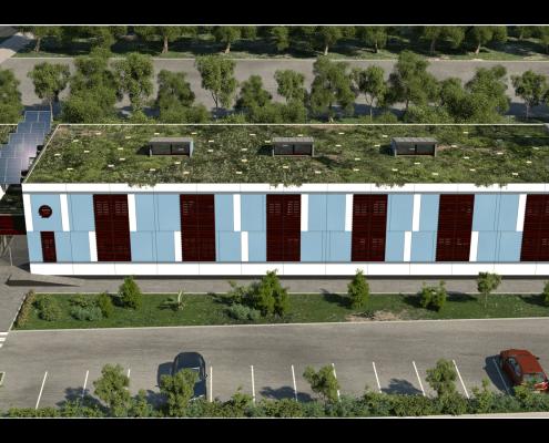 I-Sleep Eco-Hotel Exterior Azul (2)