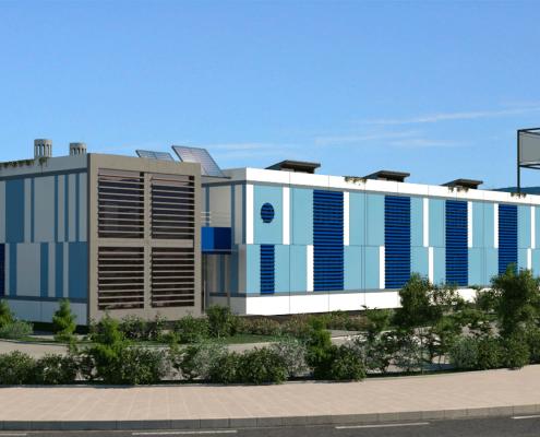I-Sleep Eco-Hotel Exterior Azul (7)