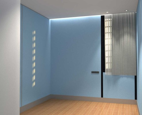 I-Sleep Eco-Hotel Interior Azul Habitación (2)