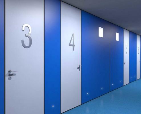 I-Sleep Eco-Hotel Interior Azul Pasillo (2)