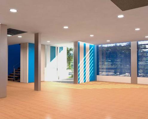 I-Sleep Eco-Hotel Interior Azul Sala (1)