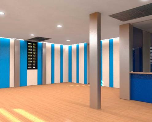 I-Sleep Eco-Hotel Interior Azul Sala (2)