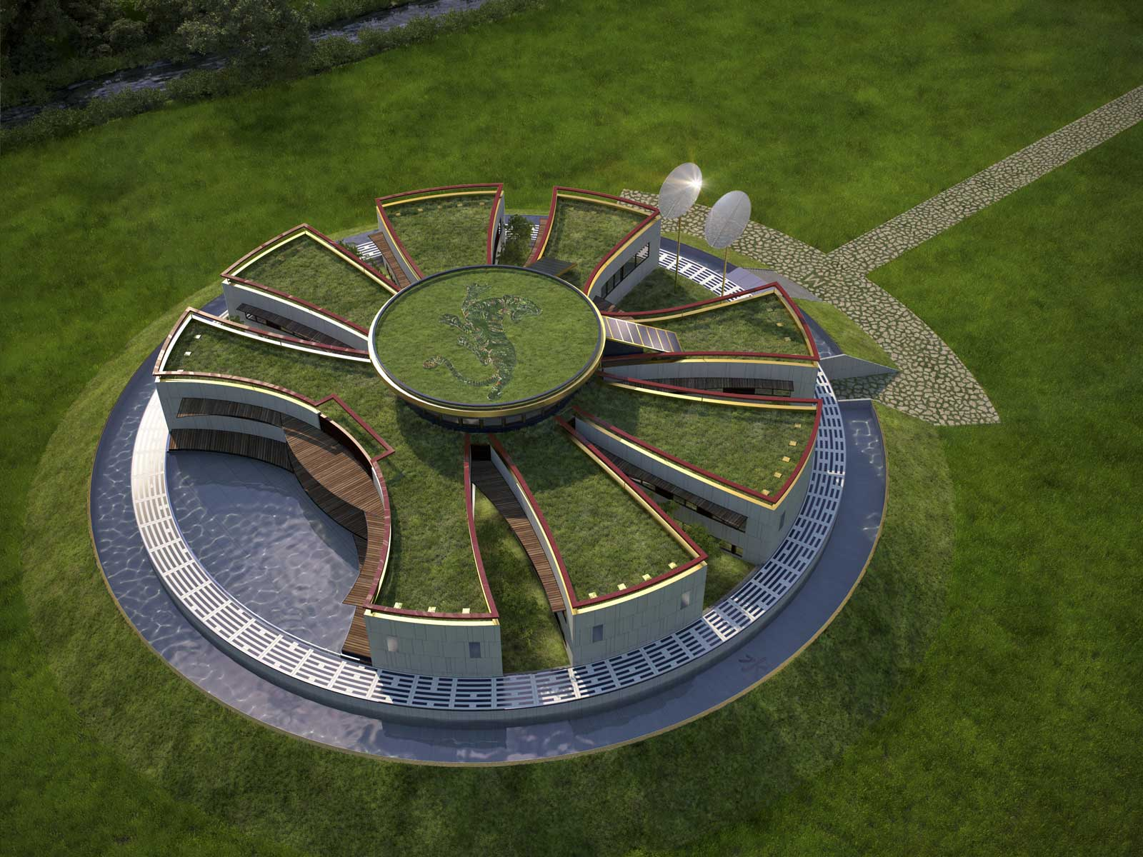 MANDALA-ECO-HOUSE