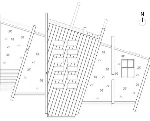 Ramat Eco-House. Planta cubierta