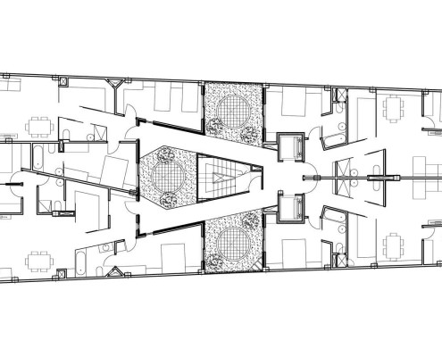 20. MISIA Eco-Building. Denia. Alicante. Spain. Luis De Garrido. Planta tercera