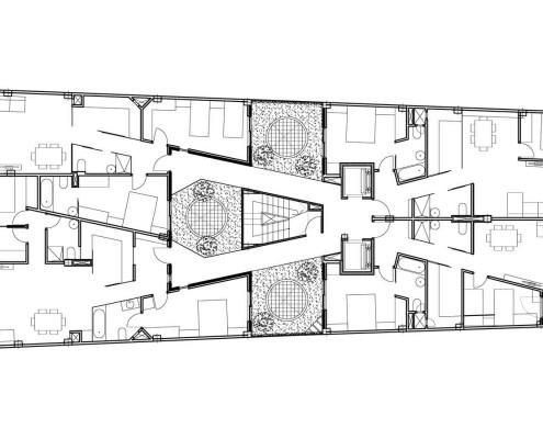 21. MISIA Eco-Building. Denia. Alicante. Spain. Luis De Garrido. Planta cuarta