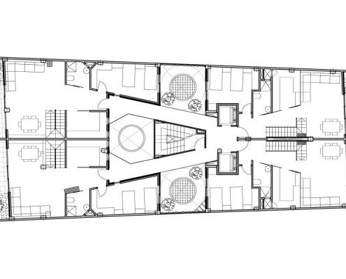 23. MISIA Eco-Building. Denia. Alicante. Spain. Luis De Garrido. Planta ático 1