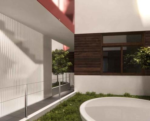 10. MISIA Eco-Building. Patio interior 1. Denia. Alicante. Spain. Luis De Garrido