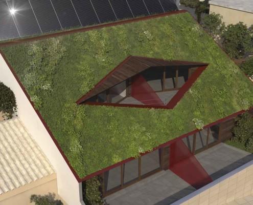 12. MISIA Eco-Building. Vista terraza 2. Denia. Alicante. Spain. Luis De Garrido