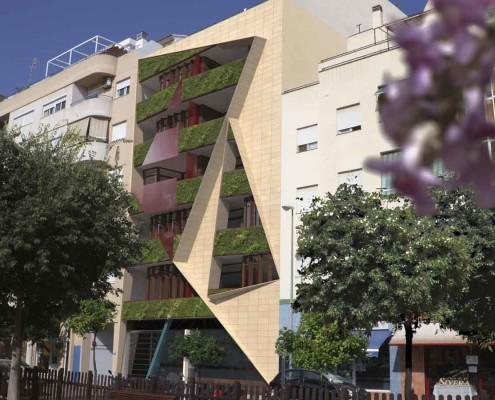 3. MISIA Eco-Building. Fachada Sur 2. Denia. Alicante. Spain. Luis De Garrido