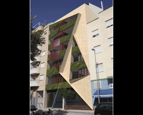 4. MISIA Eco-Building. Fachada Sur 3. Denia. Alicante. Spain. Luis De Garrido