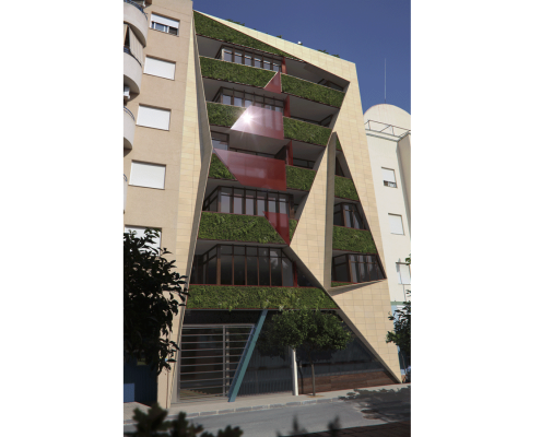 5. MISIA Eco-Building. Fachada Sur 4. Denia. Alicante. Spain. Luis De Garrido