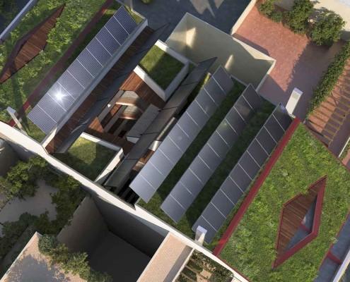7.MISIA Eco-Building. Vista aérea. Denia. Alicante. Spain. Luis De Garrido