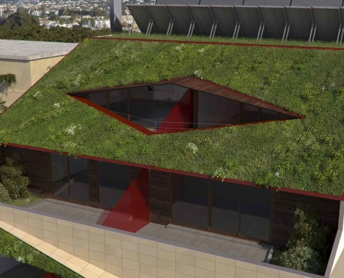 8. MISIA Eco-Building. Vista terraza 1. Denia. Alicante. Spain. Luis De Garrido