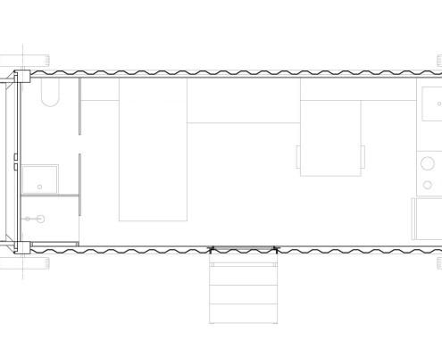 Anonymous-I Eco-House. Planta