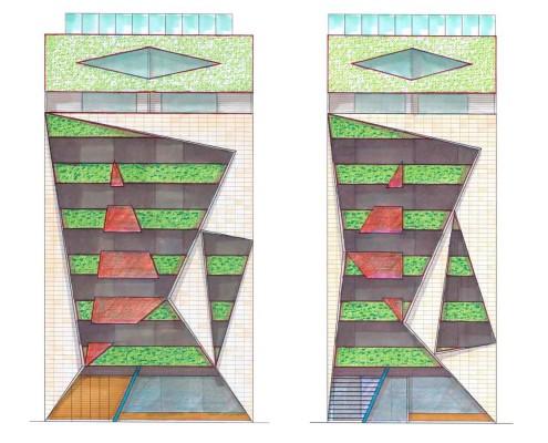 29. MISIA Eco-Building. Denia. Alicante. Spain. Luis De Garrido. Doble fachada + Ático