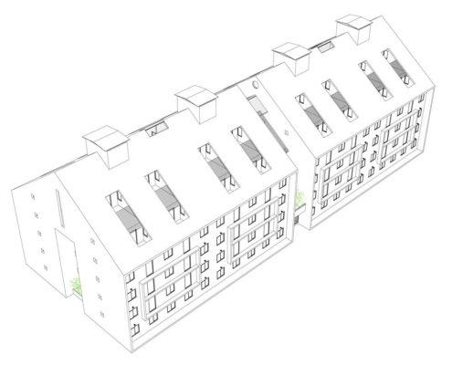 EL RODEO Eco-City. Viviendas VIP (46 M2) reconfigurables (2)