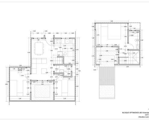 EL RODEO Eco-City. Viviendas VIP (46 M2) reconfigurables (4)