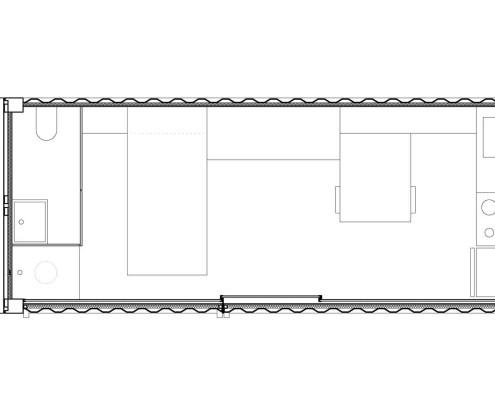 Anonymous-II Eco-House. Planta (cerrado)