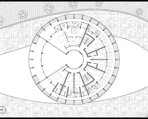 Eye of Horus Eco-House. Planta primera