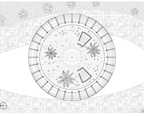 Eye of Horus Eco-House. Planta segunda