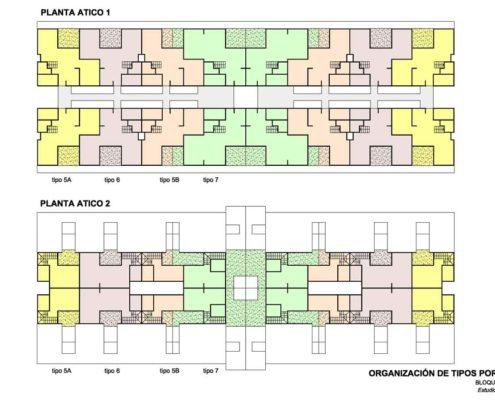 EL RODEO Eco-City. Viviendas VIS reconfigurables esquemas (2)