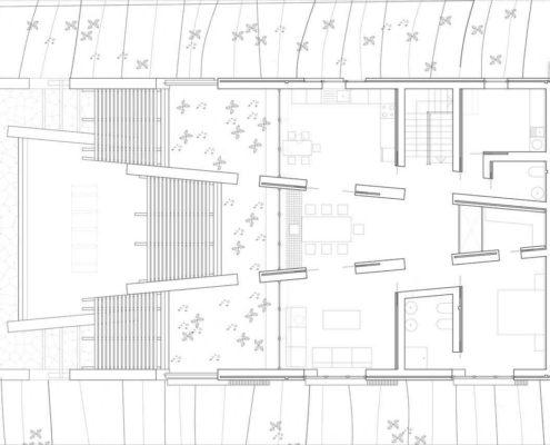 Montagut Eco-House. Planta Sótano 1