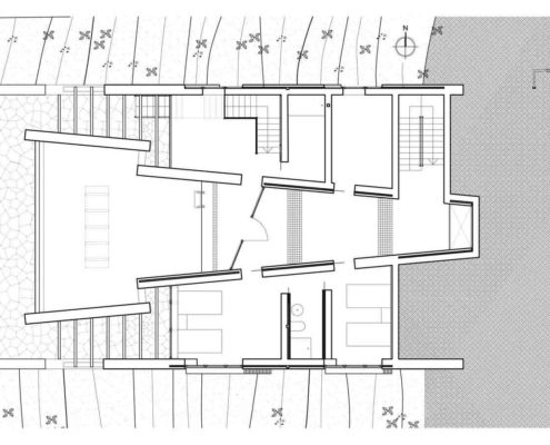 Montagut Eco-House. Planta Sótano 2