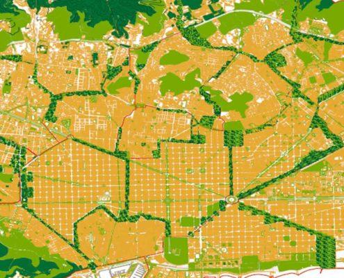 1. Barcelona 2200. Ciudades autosuficientes de la Federación (1) principal