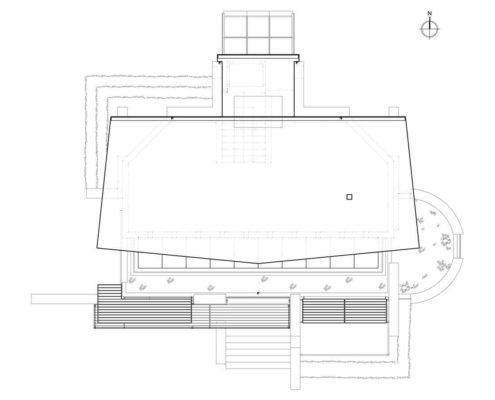 Blasco Eco-House. Planta cubierta