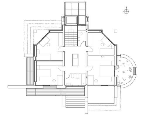 Blasco Eco-House. Planta primera