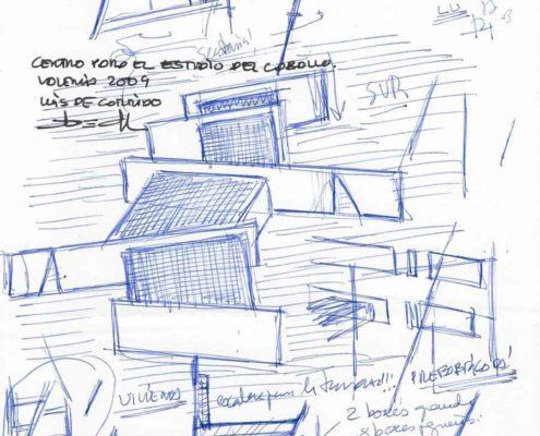 Centro de Investigacion del caballo 4. Valencia 2003. Luis De Garrido